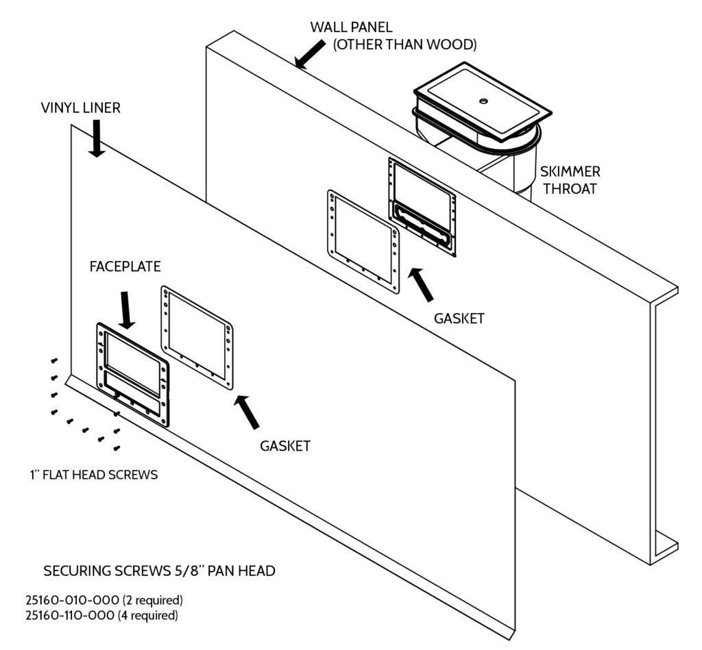 Inground Pool Kit Installation Manual - Skimmer
