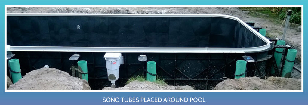 Inground Pool Kit Installation -Sono Tubes