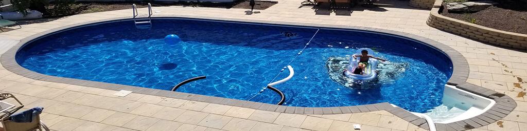 Oval Swimming Pool Kits | Inground Pool Kits