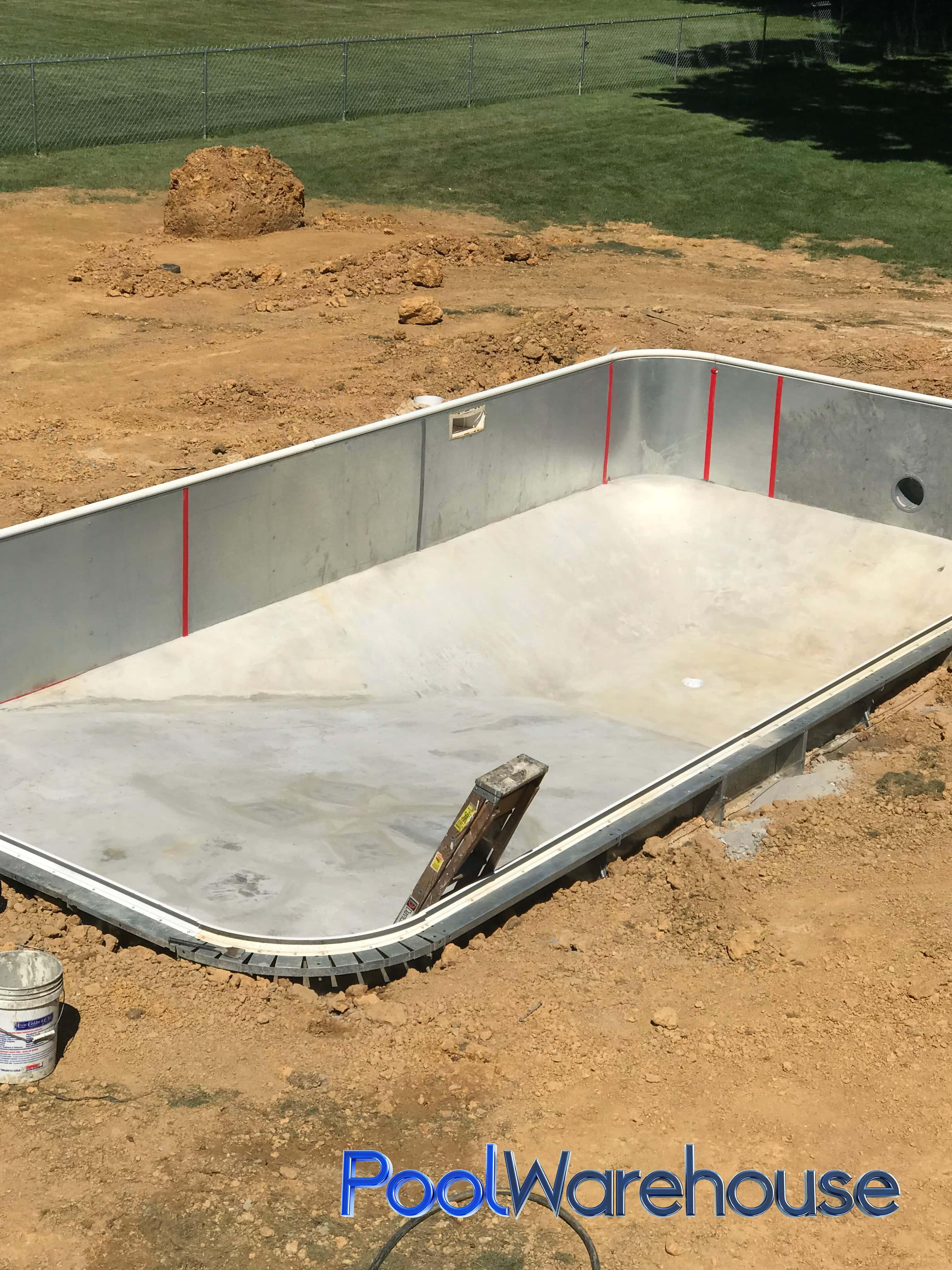 Cwynar Pennsylvania Inground Pool Kit Construction Pool