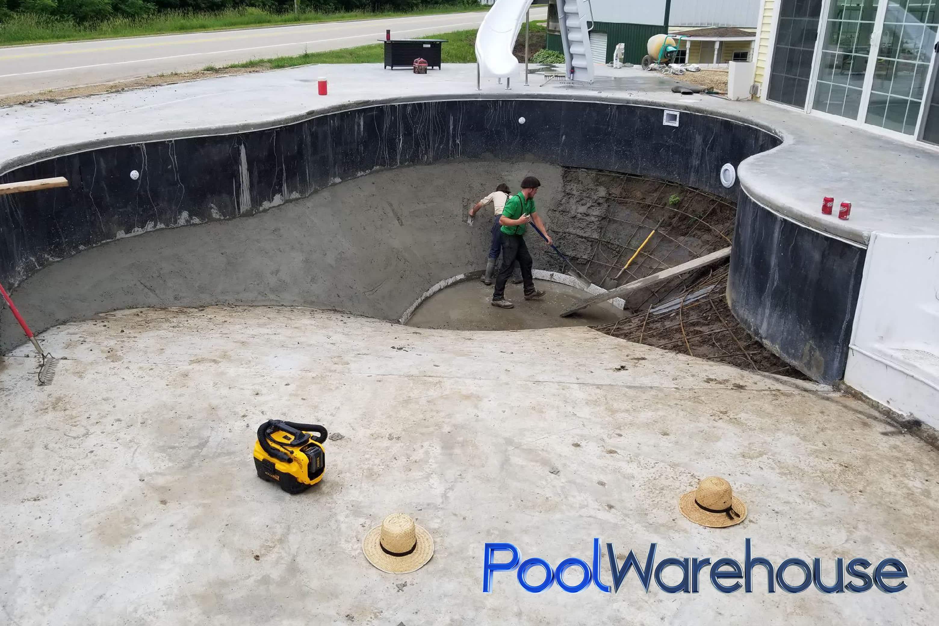Mountain Loch Inground Swimming Pool Kit Construction