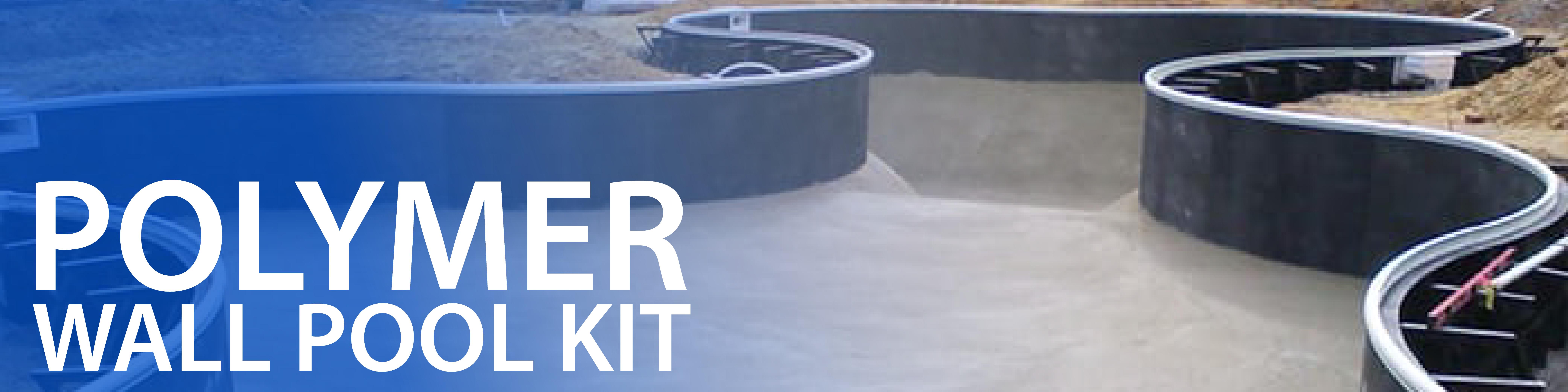 Polymer Wall Inground Swimming Pool Kit