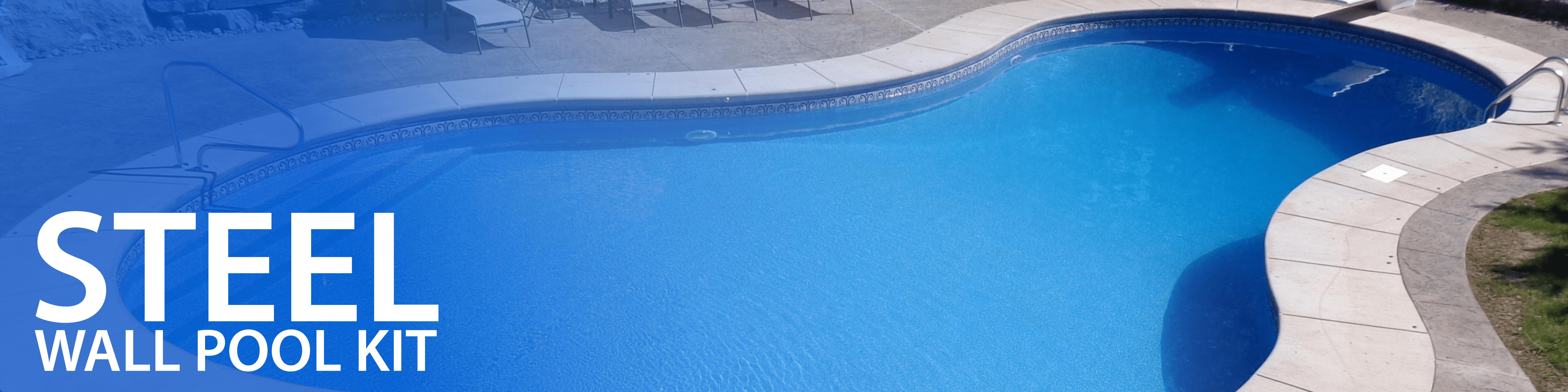 Steel Walls Inground Pool Kit