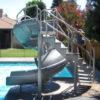 Vortex Swimming Pool Slide