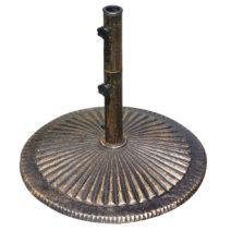 50-lb Classic Cast Iron Bronze Umbrella Base