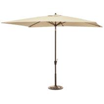 Adriatic 6.5-ft x 10-ft Rectangular Market Umbrella in Olefin