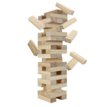 Block Out Wood Toppling Tower Stacking Game