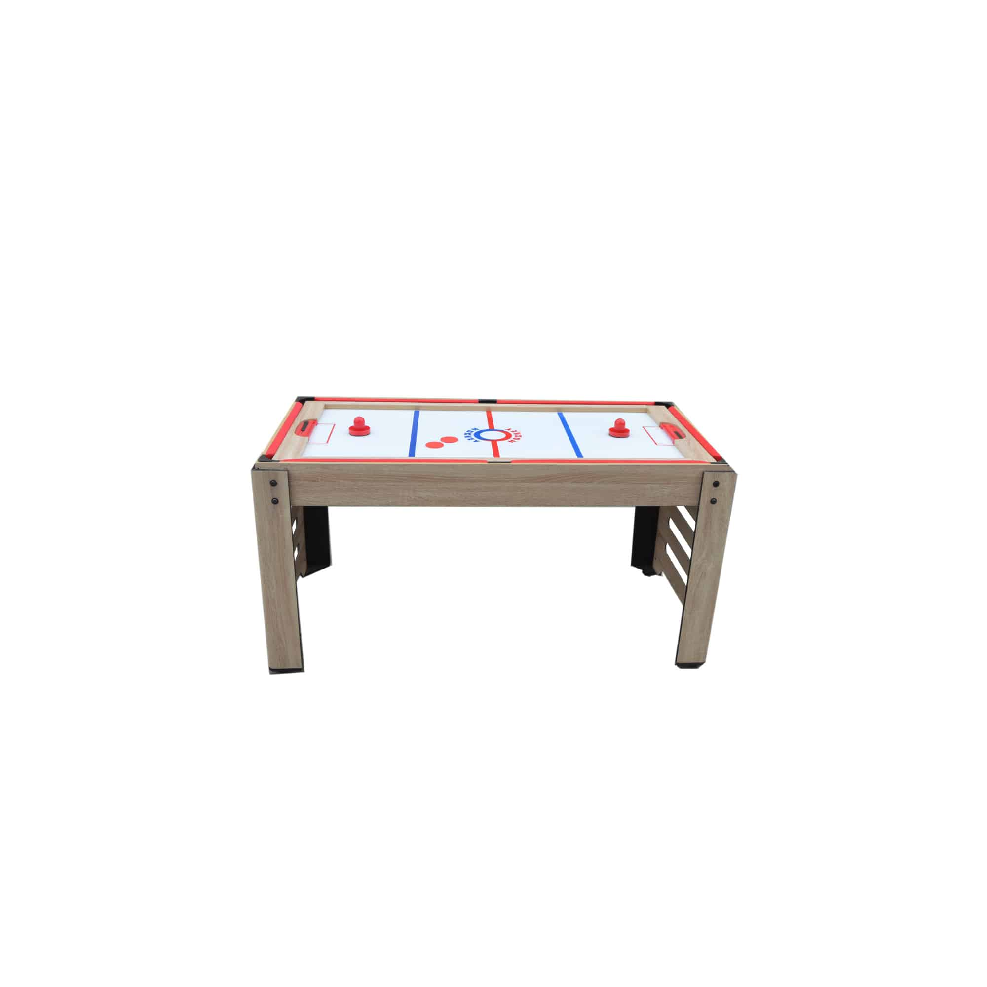 Picture of: Driftwood Hathaway Madison 54 In 6 In 1 Multi Game Table Combination Tables