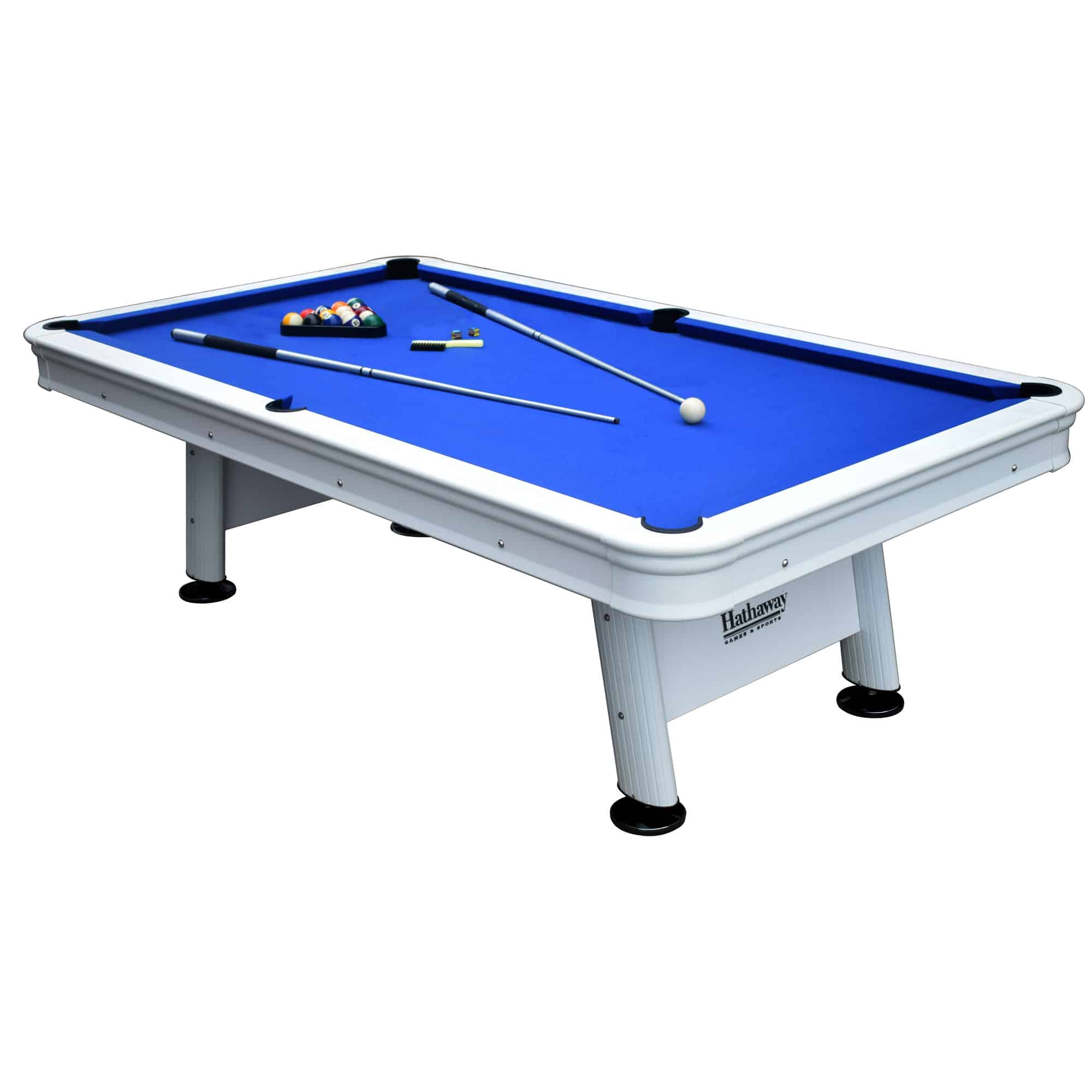 Alpine 8-ft Outdoor Pool Table With Aluminum Rails