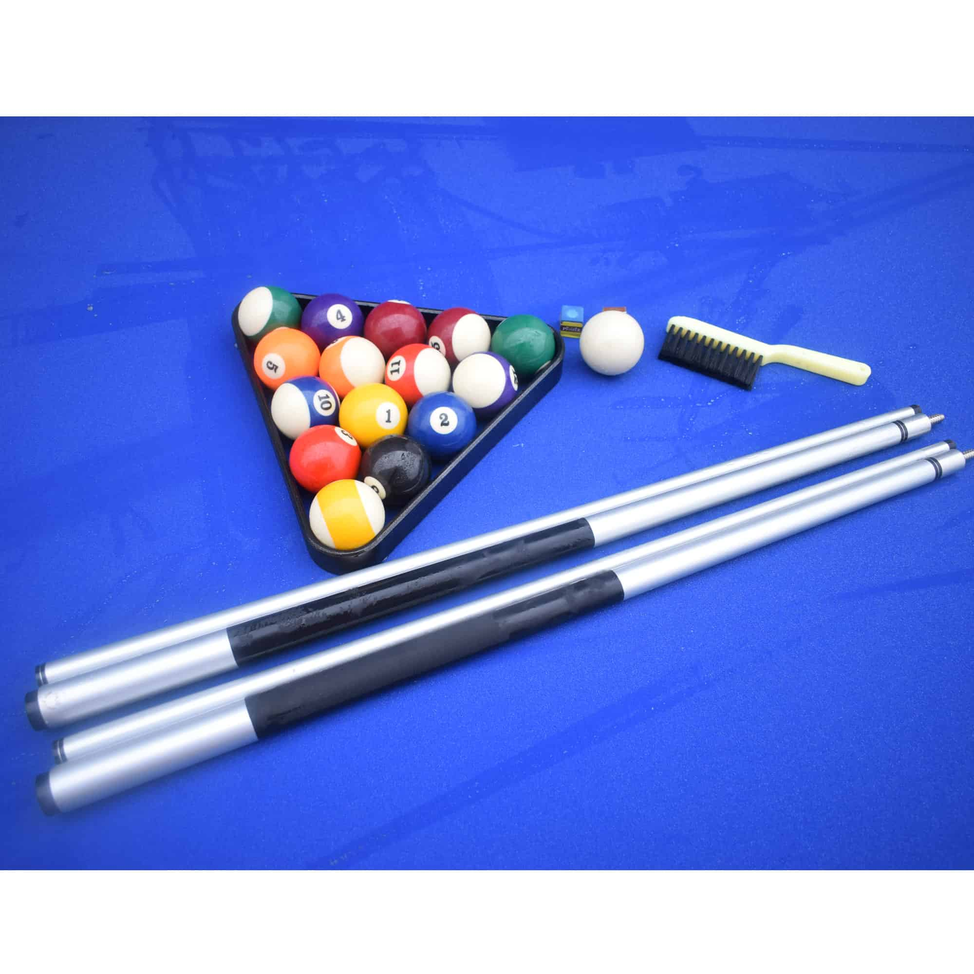 Alpine 8 Ft Outdoor Pool Table With Aluminum Rails