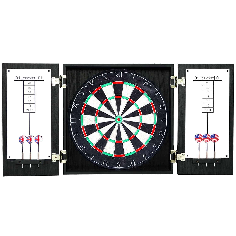 Winchester Dartboard U0026 Cabinet Set