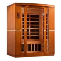Bellagio 3 Person Dynamic Low EMF Far Infrared Sauna
