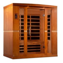 Bergamo 4 Person Dynamic Low EMF Far Infrared Sauna