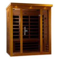 Florence 3 Person Dynamic Low EMF Far Infrared Sauna