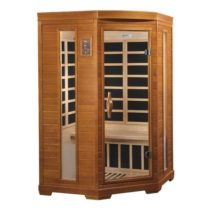 LeMans 2 Person Dynamic Low EMF Far Infrared Sauna
