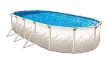 "Oval 52"" Deep Pretium Above Ground Pool Kit"