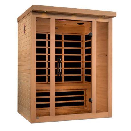 Porto 3 Person Low EMF Far Infrared Sauna