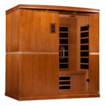 Seville 4 Person Dynamic Low EMF Far Infrared Sauna