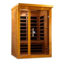 Vienna 2 Person Dynamic Low EMF Far Infrared Sauna