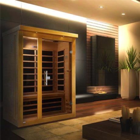 Vienna 2 Person Dynamic Low EMF Far Infrared Sauna