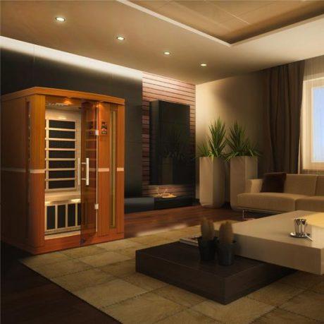 Vittoria 2 Person Dynamic Low EMF Far Infrared Sauna