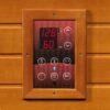 Alpine Dual Tech 3 Person Low EMF FAR Infrared Hemlock Sauna