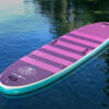 Pro 6 Teal-Purple Inflatable Stand-Up Paddle Board
