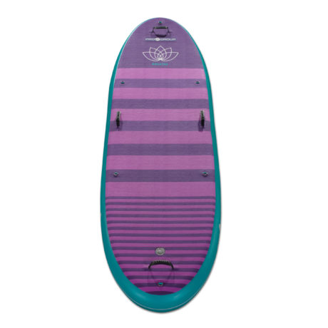 Pro 6 Teal-Purple Yoga Inflatable Stand-Up Paddle Board