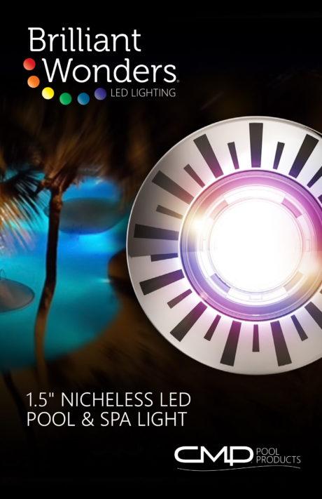CMP Brilliant Wonders 11W 1.5˝Nicheless LED Light Brochure