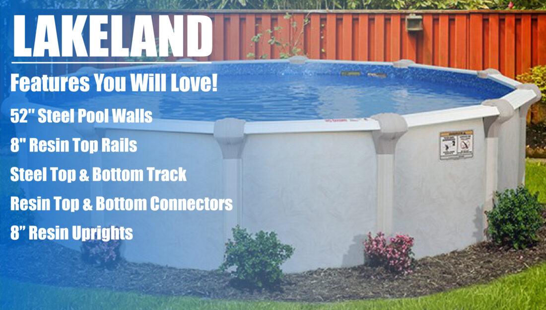 Lakeland Above Ground Pool Kits