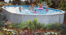 Mystique Oval Above Ground Pools