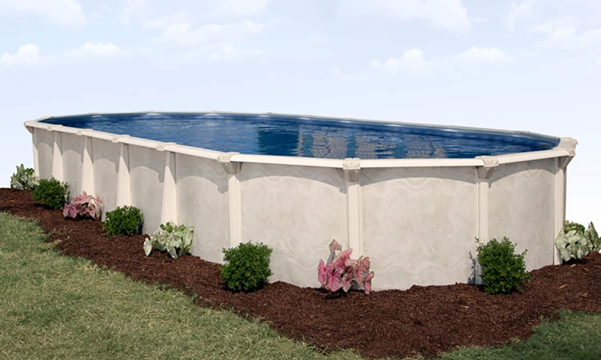 12 39 x 20 39 oval 52 deep century above ground pool kit - Above ground oval swimming pools for sale ...