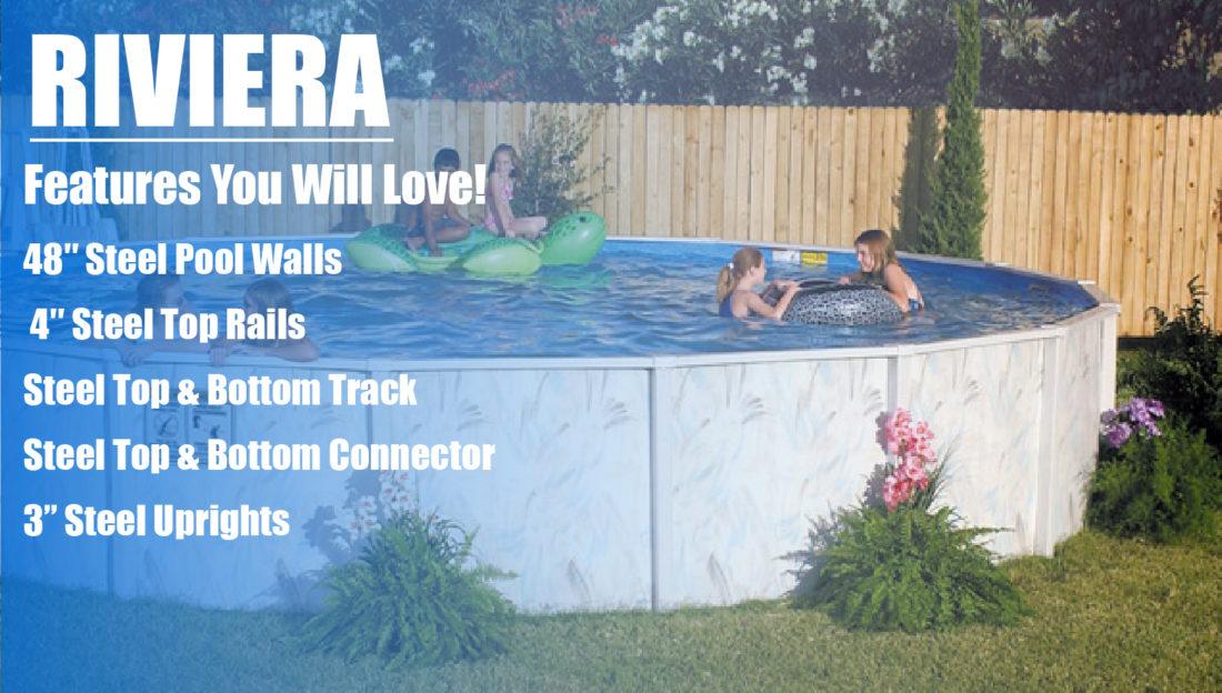Riviera Above Ground Pool Kits