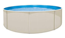 Round 48″ Deep Sunray Above Ground Pool Package