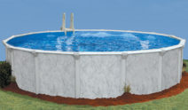 """Round 52"""" Deep Sterling Above Ground Pool Kit"""