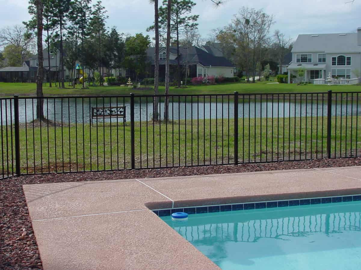 14 x 28 Swimming Pool Fence Kit - Pool Warehouse