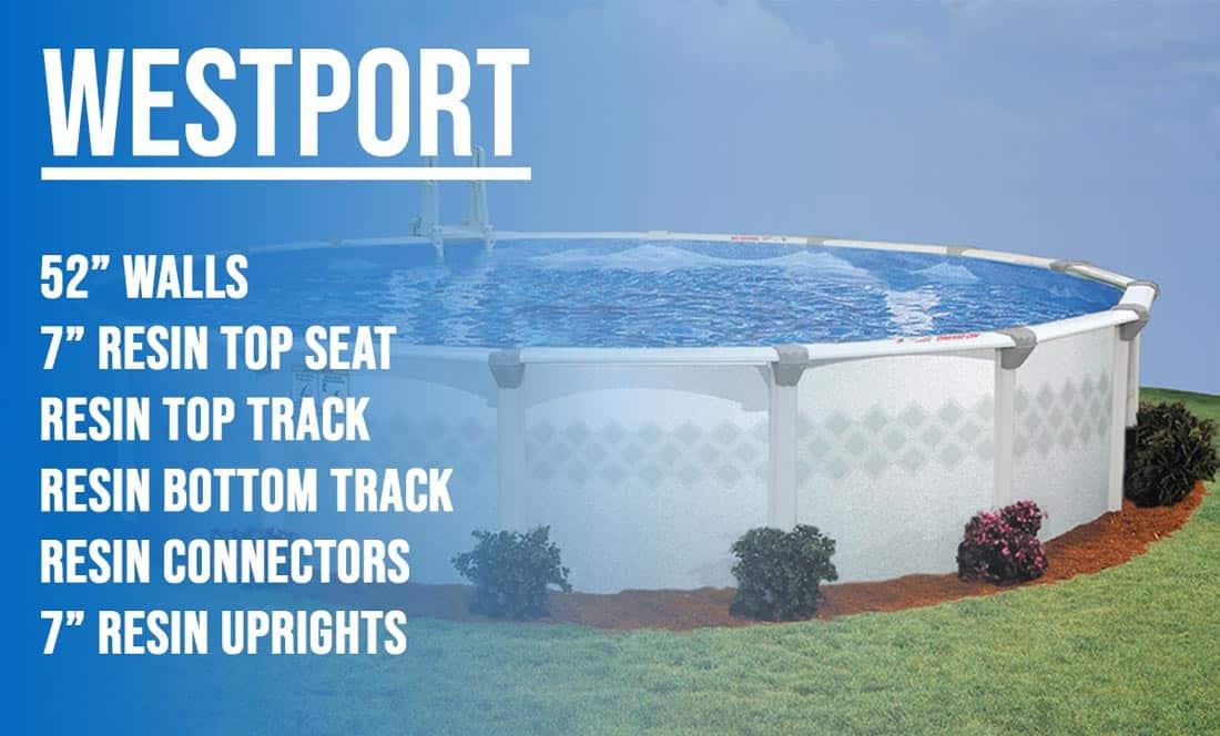 Wesport Above Ground Pool Kit