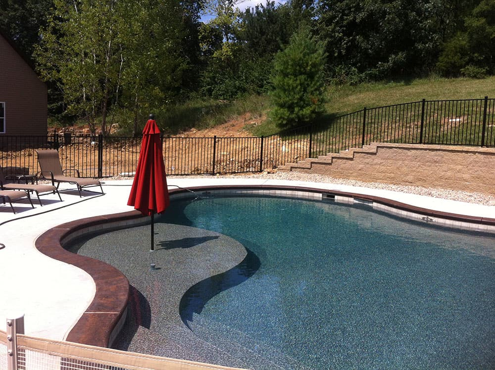 12 x 24 Swimming Pool Fence Kit - Pool Warehouse