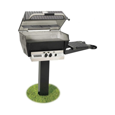 Broilmaster H4PK2N 24-Inch Deluxe In-Ground Post Gas Grill