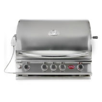 Cal Flame Built-In 4 Burner Convection BBQ Grill