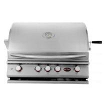Cal Flame P Series Built-In 4 Burner BBQ Grill