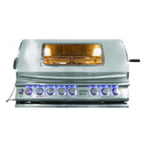 Cal Flame TOP GUN Built-In 5 Burner Convection BBQ Grill