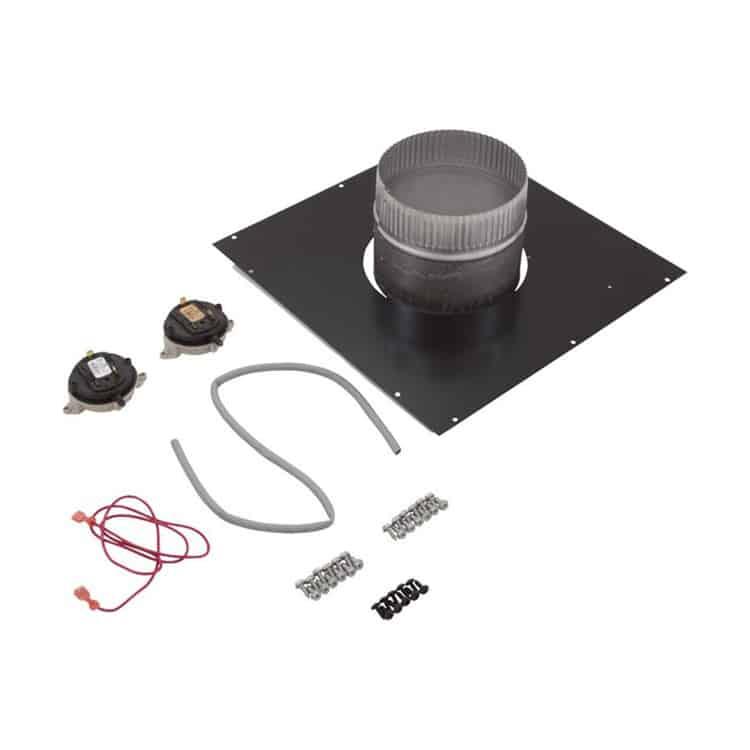 Hayward H200FD Indoor Negative-Pressure Vertical Vent Adapter Kit on