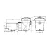 Hayward PowerFlo Matrix 1.5HP 2 Speed Pool Pump