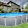 Martinique Oval Above Ground Pool