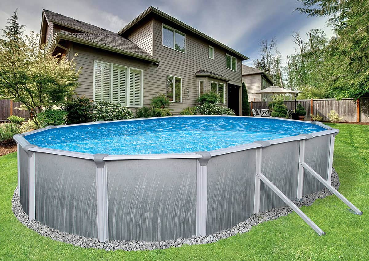 12 X 24 Oval 52 Quot Deep Martinique Above Ground Pool Package