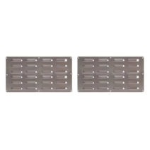 Coyote Stainless Island Vent 2 Pack