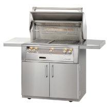 Alfresco 3 Burner 36-Inch Freestanding Luxury BBQ Grill