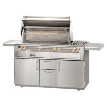 Alfresco 3 Burner 56-Inch Freestanding Luxury BBQ Grill