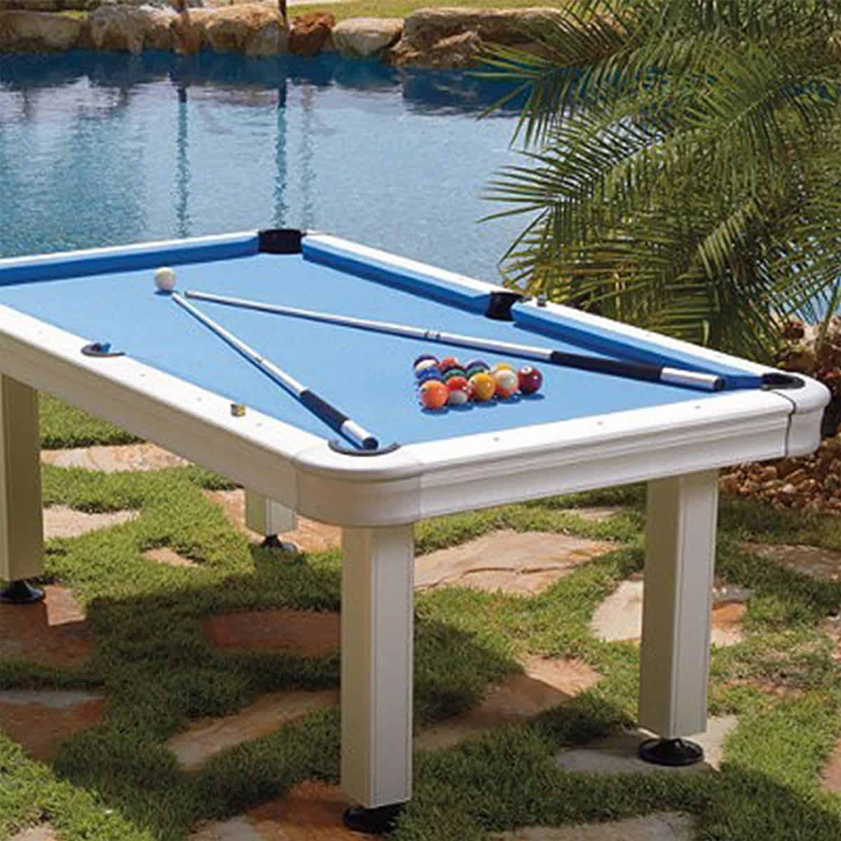 Sensational Imperial 7 Ft Outdoor Pool Table Interior Design Ideas Gentotryabchikinfo